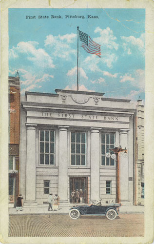 Pittsburg Scenes First State Bank